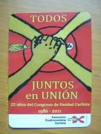 Calendario Comunión Tradicionalista Carlista. Juntos En Unión. 2011. - Documentos