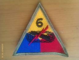 Parche Estados Unidos. 6ª División Armada. - Escudos En Tela