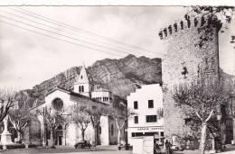 T  25  -  SISTERON  ( B-A.)  Alt.  482 M.  -  La  Cathédrale  Et  Une  Vieille  Tour - Sisteron