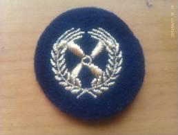 Parche Volksmarine Marineflieger. República Democrática Alemana. Comunista. 1948-1990. - Escudos En Tela