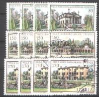 I618) ITALIA VILLE 1980 SERIE USATA - 6. 1946-.. República