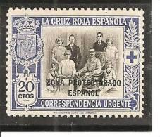 Marruecos Español - Edifil 104 (MH/*) - Marruecos Español