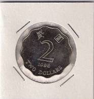 A7 Hong Kong 2 Dollars 1998. UNC - Hong Kong