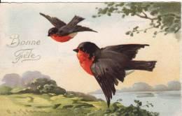 Carte Postale Fantaisie C.KLEIN - OISEAU- Rouge-Gorge - Bonne Fête - Illustrateur - VOIR 2 SCANS - - Klein, Catharina