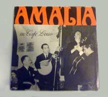 "PORTUGAL. FADO. Amália Rodrigues ""Amália No Café Luso"". LP Duplo Inclui Bilhete Para Espectáculo De 25 De Abril De 1952. - World Music"