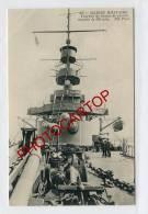 Marine Militaire-Tourelle De Canons Couples De 305mm-Bateaux-Marins-Militaria-Kriegsschiffe-Technique-Etat Superbe- - Krieg