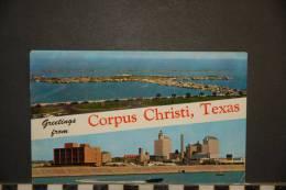 TEXAX  GREETINGS FROM CORPUS CHRISTI   VOYAGEE 1959 - Corpus Christi