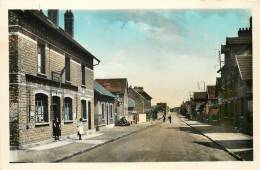 02 FARGNIERS RUE CARNOT CAFE TABAC CPSM FORMAT CPA - Frankreich