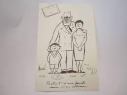 DESSIN DE CHAVAL  BALLOTYL  PUBLICITE LABORATOIRE PHARMACEUTIQUE - Advertising
