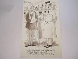 DESSIN DE BERNARD ALDEBERT BALLOTYL  PUBLICITE LABORATOIRE PHARMACEUTIQUE - Advertising