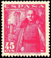 España 1028A ** Franco Castillo De La Mota. 1948. - 1931-50 Unused Stamps