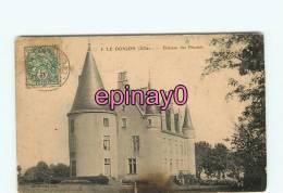 Br - 03 - LE DONJON - Chateau Des Plantais - édit.Meilleuret - - France