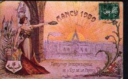 54 - NANCY - EXPOSITION INTERNATIONALE DE L'EST DE LA FRANCE - Nancy