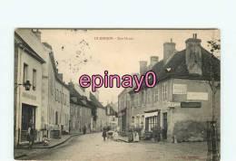 Bf - 03 - LE DONJON - Haute Rue - Café - Chocolat Meunier - édit. Bérard - - France