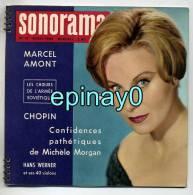 SONORAMA - MARCEL AMONT - Francoise SAGAN - CHOPIN - PEYNET - Michéle MORGAN - ARMEE SOVIETIQUE - HANS WERNER - LAGRANGE - Spezialformate