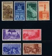 REPUBL. ITALIANE - Y&T : 504/511 - 1946* - 1946-60: Nuevos
