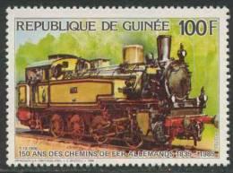 Guinea / Rep. Guinee 1986 Mi 1119 A ** Class T.13 Steam Locomotive No. 7906, Prussia - 150 Years Railways In Germany - Treinen