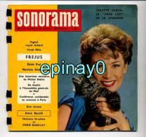 SONORAMA - Colette DERIAL - Edith PIAF - Catastrophe De FREJUS - Eddie CONSTANTINE - Marcel PAGNOL - Marléne DIETRICH - Formats Spéciaux