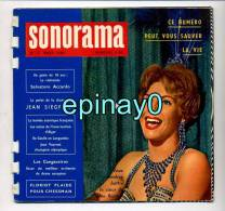 SONORAMA - Line RENAULT - Salvatore ACCARDO - Jean SIEGFRIED - Jean VUARNET - Rosana SCHIAFFINO - Spezialformate