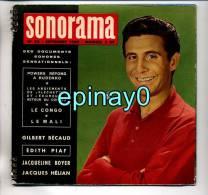 SONORAMA - Gilbert BECAUD - Edith PIAF - Jacqueline BOYER - Jacques HELIAN - Spezialformate