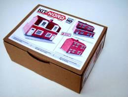 - KIT NORD - Kit Maison De Corons à Monter - HO - Réf 871002 - Bâtiments & Paysages