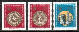 DDR 1090-1092 Postfrisch ** (8917) - [6] République Démocratique