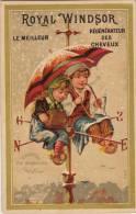 Enfant Rose Des Vents Girouette Neige Pipe Cheveux Maison Hebert Parfumeur Du Roi à Bruxelles - Altri