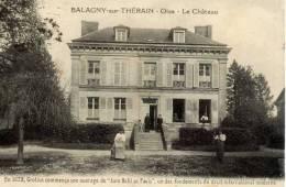 60-BALAGNY-sur-THERAIN- Le Chateau--animée - Non Classificati