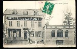 25 AUDINCOURT / Hôtel De La Poste / - Autres Communes