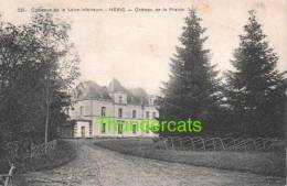 CPA CHATEAUX DE LA LOIRE INFERIEURE HERIC CHATEAU DE LA PRAIRIE - Châteaux