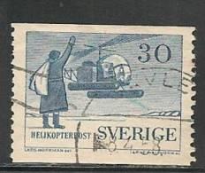 SWEDEN - 1958 - POSTE AERIENNE - Yvert # A8  - USED