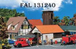 - FALLER - Dépôt De Pompes à Incendie - HO - Réf 131240 - Scenery