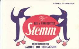 Buvard Bas Chaussettes Stemm Laine Pingouin - Textile & Vestimentaire