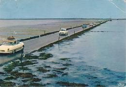 21749 Ile De Noirmoutier Le Gois -36 Theojac, Voiture Panhard ? Dauphine 2cv -!état! - Voitures De Tourisme