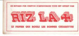 Buvard Pur Chiffon Tabac Riz La + Le Papier Qui Roule Les Bonnes Cigarettes - Tabac & Cigarettes