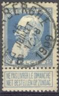_Me160: N° 76: E11: BLANKENBERGHE - 1905 Grove Baard