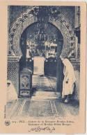 FEZ ..ENTREE DE LA MOSQUEE MOULAY IDRISS - Marrakech