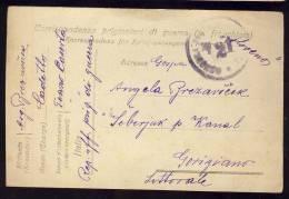 PRIGIONERI DI GUERRA   1919.     CASERTA - Militärpost (MP)