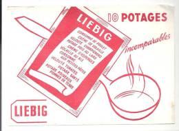Buvard 10 Potages Liebig Incomparables - Sopas & Salsas