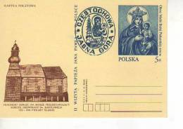 II VISITA DE JUAN PABLO II A POLONIA  AÑO 1997 KARTKA POCZTOWA ENTERO POSTAL CARTOLINA POSTALE   OHL - Stamped Stationery