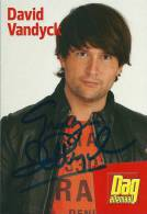 David Vandyck - Autogramme