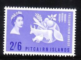 Pitcairn Islands 1963 Freedom From Hunger Omnibus MLH - Islas De Pitcairn