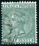 JAMAICA - 1885 - Mi 19 - QUEEN VICTORIA HALF PENNY - Jamaica (...-1961)