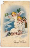BUON NATALE - ANGELI - 1951 - Formato Piccolo - Natale