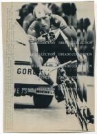 FOTOGRAFIA ORIGINALE ANSA JULIAN GOROSPE TOUR DE FRANCE NANTES ANNO 1986 CICLISMO SPORT - Sport