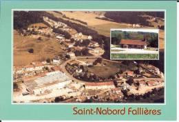 88 - Vosges - Saint-Nabord - Fallières Et Chapelle - Format  10,3 X 15,1 - Saint Nabord