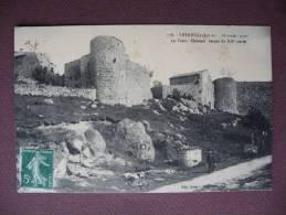 CPA 42 LEYNIECQ Le Vieux Chateau Du XII Petite ANIMATION 1913 - France