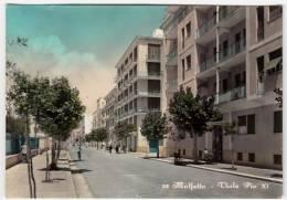 52 - MOLFETTA - VIALE PIO XI - BARI - 1957 - Primi Colori - Molfetta