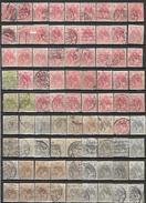 """_6R-618: Restje Van  81 Zegels """" Bontkraag """" ... Om Verder Uit Te Zoeken... - 1922-1927 Houyoux"""