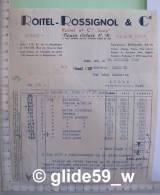 ROITEL-ROSSIGNOL & Cie - Train Eclair C. R. - PARIS Le 26 Octobre 1949 - Altri